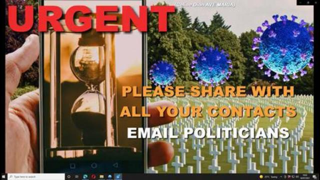 URGENT STOP VACCINATIONS NOW! EMAIL YOUR POLITICIANS! BY PROF MIKE YEADON 16-7-2021
