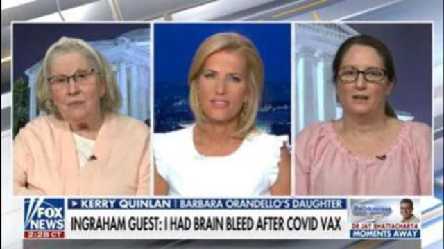 Woman has brain bleed and Fauci says get over it 10-7-2021