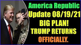 ARREST IS MADE BEFORE TRUMP RETURNS OFFICIALLY 19-8-2021