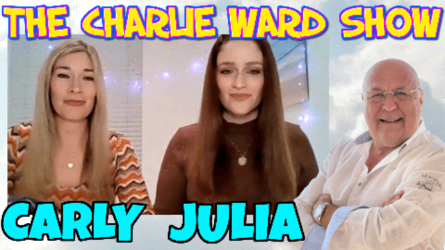AVOID THE CROSS FIRE THIS WEEK WITH CARLY & JULIA WITH CHARLIE WARD 3-8-2021