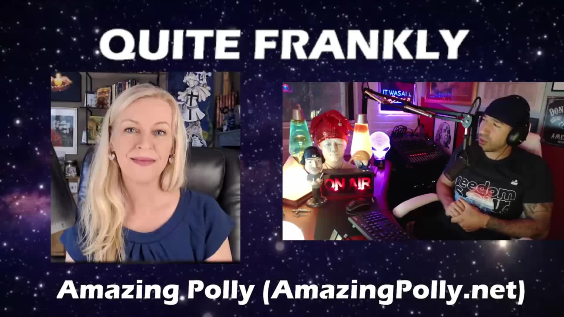 Amazing Polly on Quite Frankly Aug 4th 2021 6-8-2021