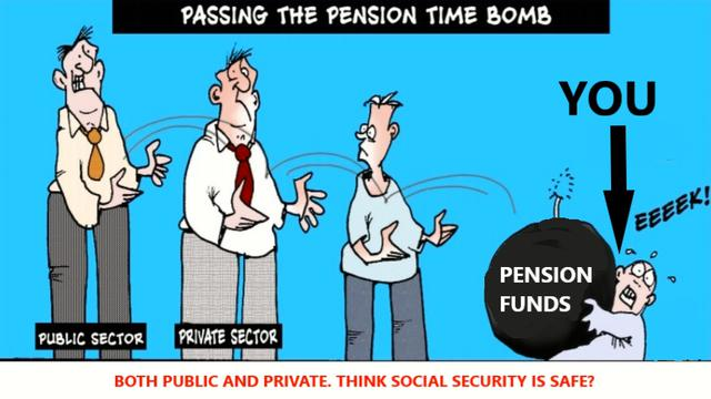 Another reason to kill you. They cant pay you. They are/have cleaned out the pension funds 23-8-2021