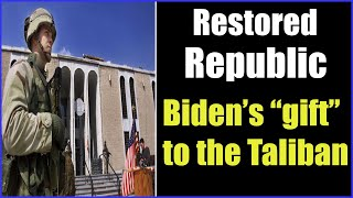 BIDEN Afghanistan Missteps and Gift to the Taliban 27-8-2021