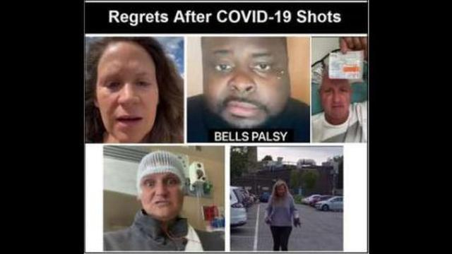 CENSORED – COVID Vaccine Injured Who Regret Their Decisions to Get the Shot and Their Message to You 20-8-2021