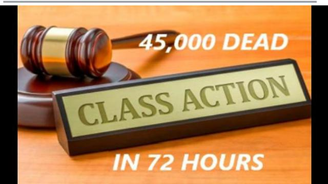 COVID-19 EXPERIMENTAL JAB HAWAII CLASS ACTION LAWSUIT – 45,000 DEAD AMERICANS IN 72 HOURS FROM JAB ! 28-8-2021