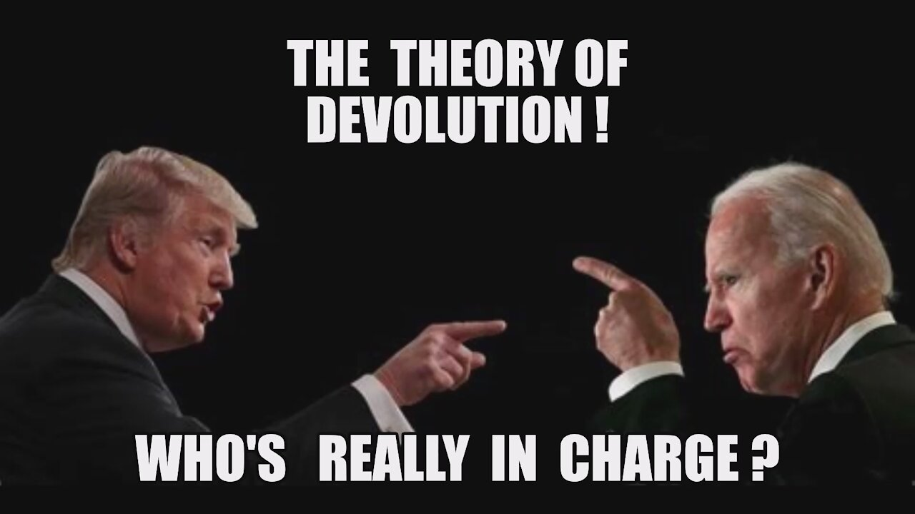 DEVOLUTION 101: Trump Is Still President! Controls US Military! Q: Special Operations Election Sting 4-8-2021