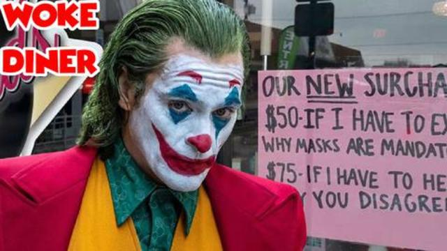 Diner Posts $50 Mask Mandate Surcharge & Is Immediately Out of Business 26-8-2021