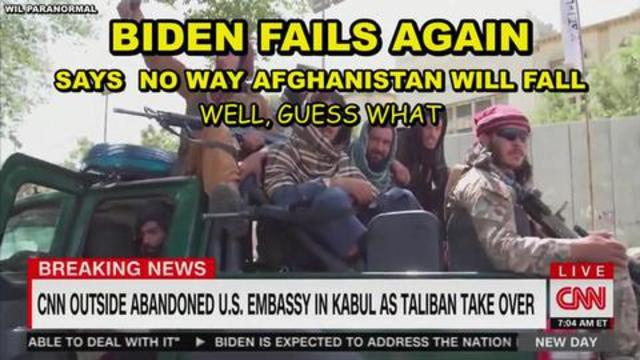 FAKE PRESIDENT GOES MISSING AFTER AFGHANISTAN FALLS TO TALIBAN – VACCINE INJURIES AND MORE MANDATES 17-8-2021