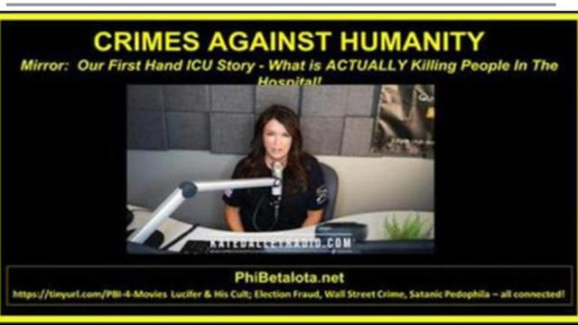 FIRST HAND ICU STORY – WHAT IS ACTUALLY KILLING PEOPLE IN THE HOSPITAL (STUPID DOCTORS AND NURSES) 21-8-2021