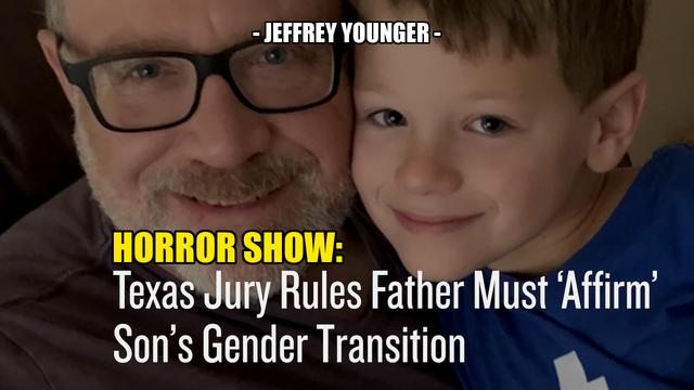 """HORROR SHOW: MOM FORCES SON TO BECOME """"GIRL"""", DAD LOSES ALL RIGHTS – Jeffrey Younger 31-8-2021"""