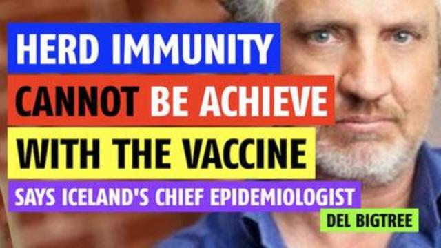 Herd immunity cannot be achieved with the vaccine says chief epidemiologist 18-8-2021