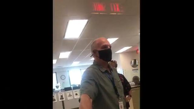 Larry Stinson From Peterborough Public Health Is Caught Violating The Nuremberg Code On Camera 25-8-2021