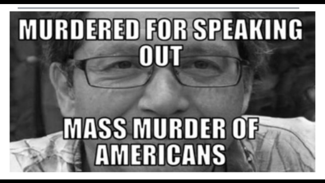 MURDERED FOR SPEAKING OUT – LAST WORDS OF DAVID GOLDBERG'S WARNING OF MASS MURDER OF AMERICANS !! 30-8-2021