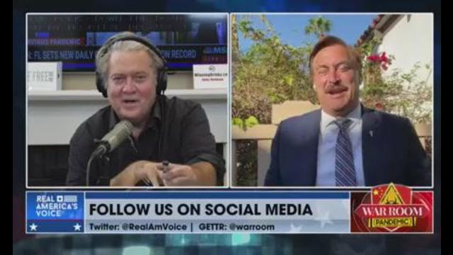 Mike Lindell Having The Real Re-Run Of The 2020 Election 4-8-2021