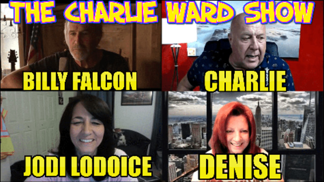 NEVER SURRENDER WITH BILLY FALCON, DENISE, JODI LODOICE & CHARLIE WARD 6-8-2021