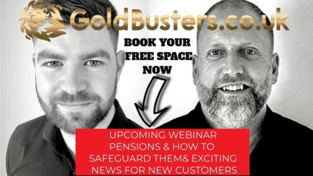 Pensions & how to safeguard them & exciting news for new & existing customers! With James 19-8-2021