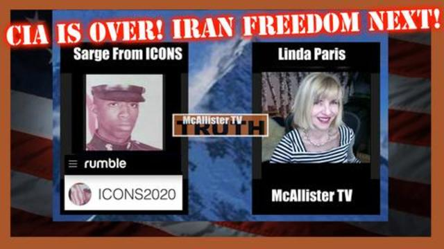 SARGE FROM ICONS! CIA STRONGHOLD IS OVER! IRAN FREEDOM IS NEXT! 19-8-2021