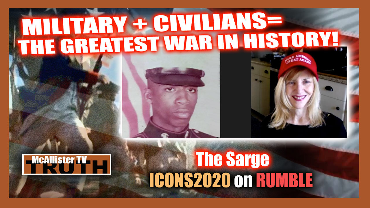SARGE P2! IT'S NOT A DISEASE IT'S A BIOLOGICAL WEAPON! 1-8-2021