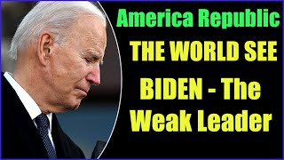 """SIX MONTHS UNDER BIDEN WITH A MESS """"AFGHANISTAN, BORDERS, ENERGY, PAN"""" AMERICA MISS TRUMP 18-8-2021"""