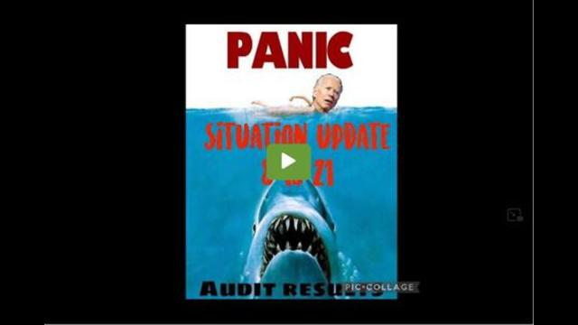 Situation Update: Biden Panic! Audit Results! The Military Is Positioning! – We The People News 19-8-2021