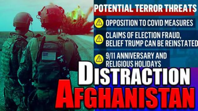 THE AFGHANISTAN DISTRACTION: WHAT ARE THEY TRYING TO HIDE??? 17-8-2021