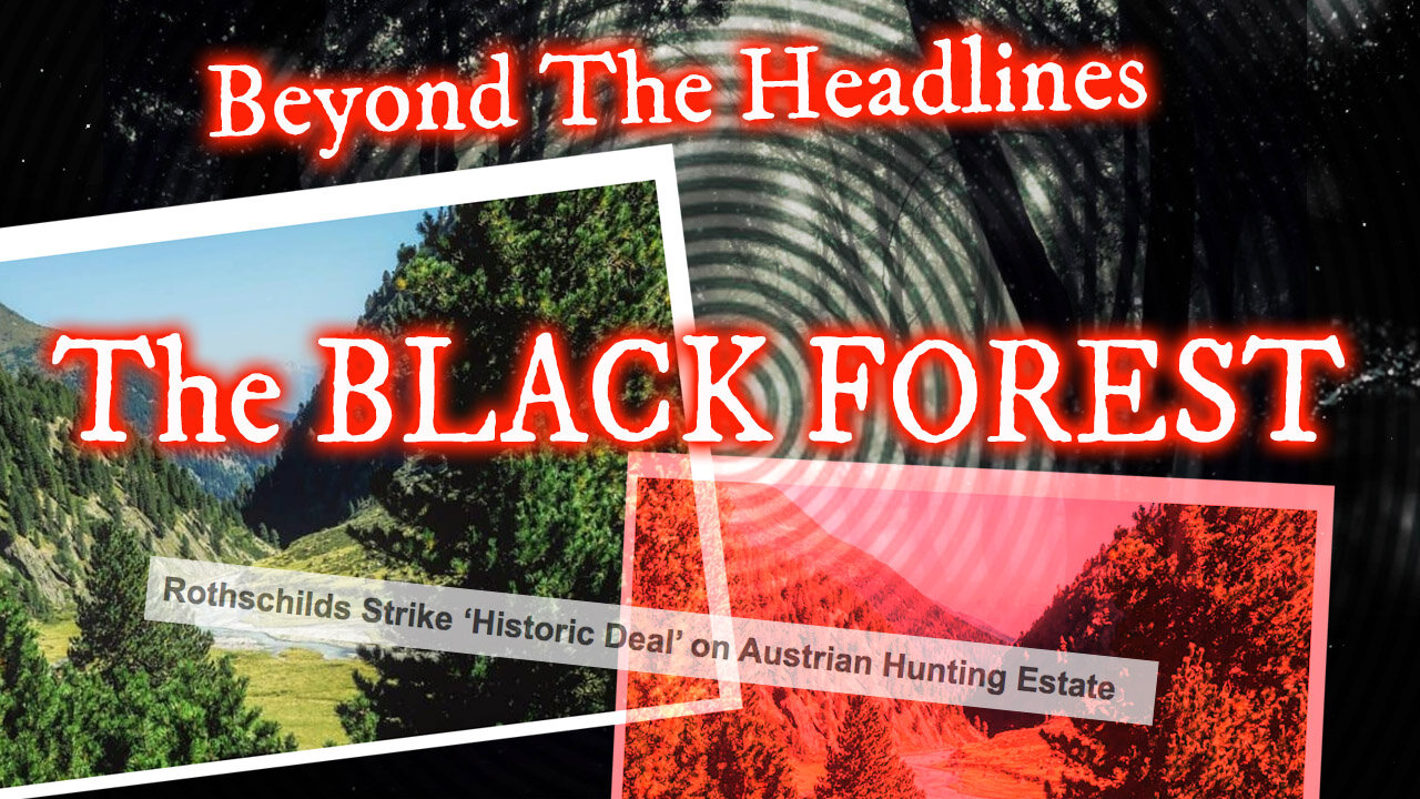 THE BLACK FOREST HUNTING PARTIES! UFO CRASHES! NAZI BELL! ROTHSCHILDS! 3-8-2021