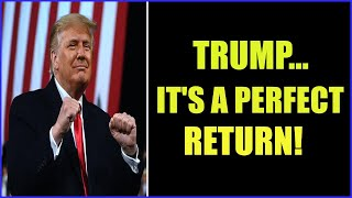 TRUMP HAS GOOD PLANS, AND IT'S A PERFECT RETURN! 31-8-2021