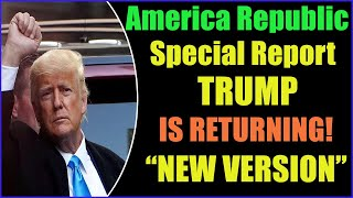TRUMP IS RETURNING TO THE WHITE HOUSE WITH A NEW VERSION 17-8-2021