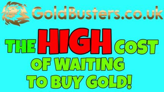 The HIGH cost of waiting to buy Gold! With Adam James & Charlie Ward 9-8-2021