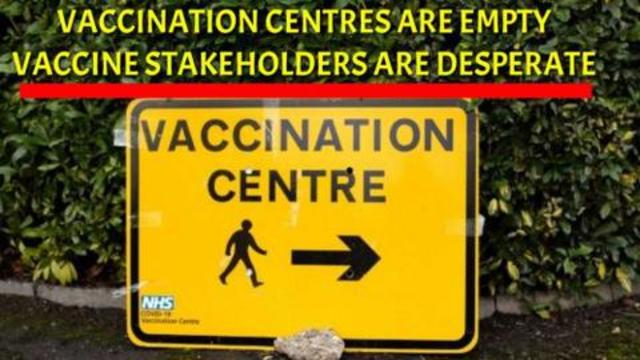 Vaccination centres are EMPTY, vaccine stakeholders are DESPERATE 14-8-2021