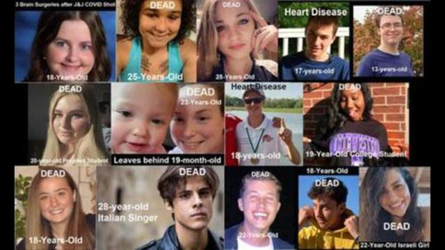 We are Destroying the Lives of our Young with Experimental COVID Injections (Genocide) 15-8-2021