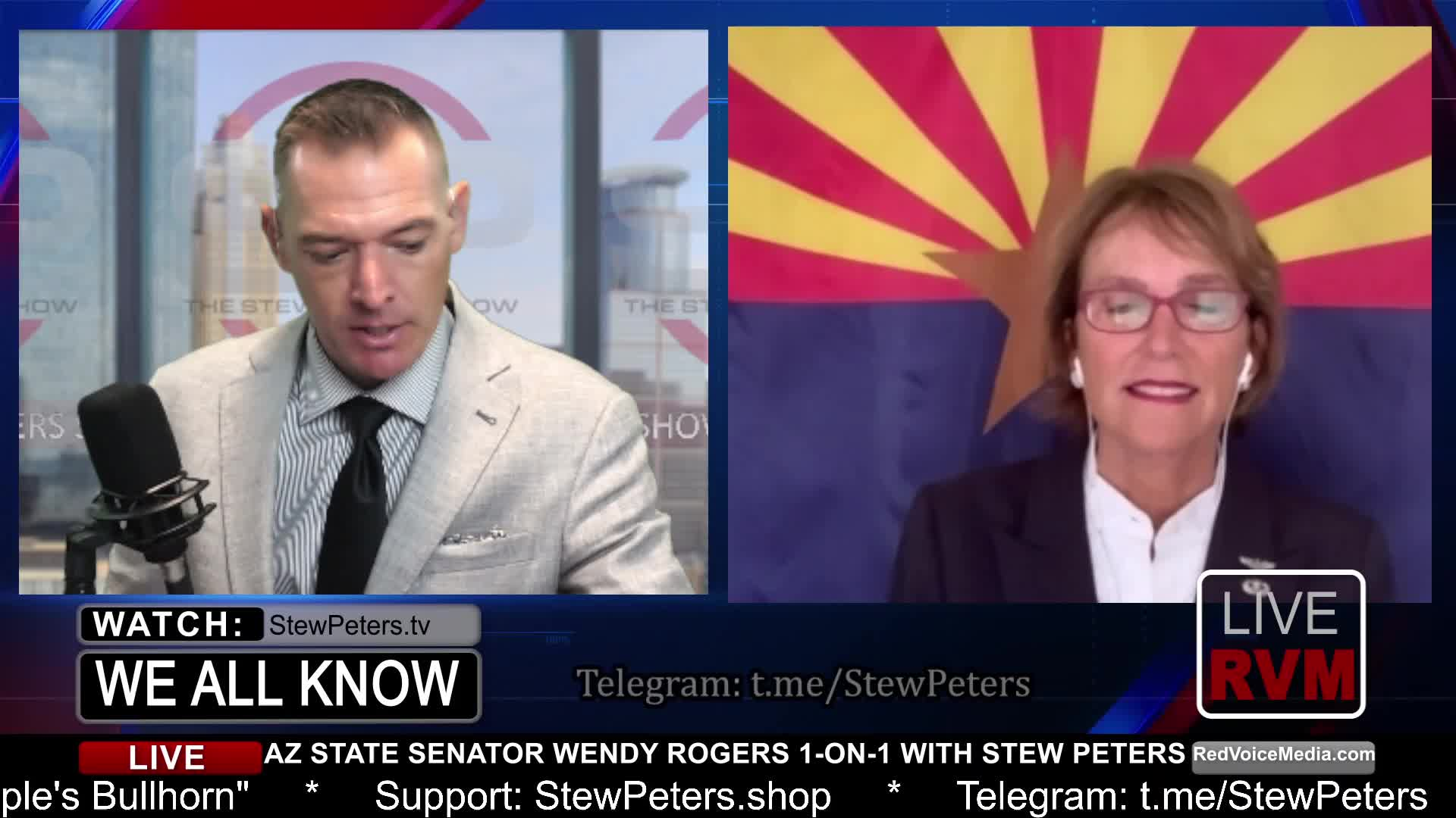 """Wendy Rogers UNPLUGGED! – AZ Audit """"ARREST THEM ALL"""" – What the 'Media' WON'T Tell You! 4-8-2021"""