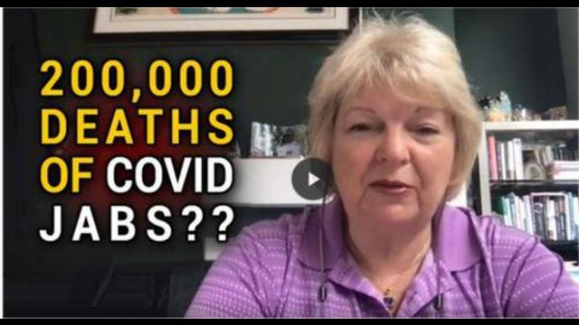 """""""Whistleblower told me the 45,000 deaths of covid vax is closer to 200,000 in a week"""" 22-8-2021"""