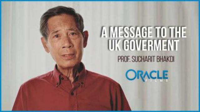 A Message to the UK Government and the BBC from Professor Sucharit Bhakdi, M.D. 16-9-2021