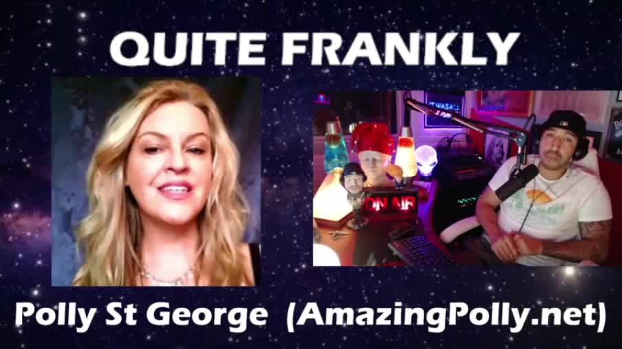 Amazing Polly on Quite Frankly Sept 28-9-2021