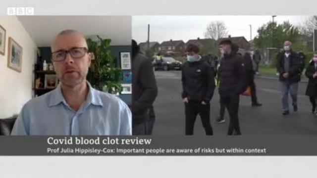 BBC BULLSHIT – yes the AstraZeneca vaccine is causing death and blood clots but COVID is WORSE 4-9-2021