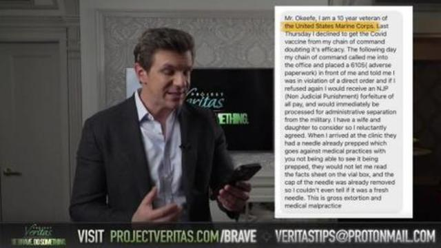 BIG ANNOUNCEMENT – Veritas To Release Vaccine Whistleblower Bombshell – Messages Pouring In 17-9-2021