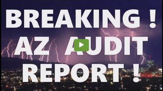 Breaking! AZ Audit Released! 270,000 Fraudulent Votes! Maricopa County Canvass Initial Earth-Shatter 9-9-2021