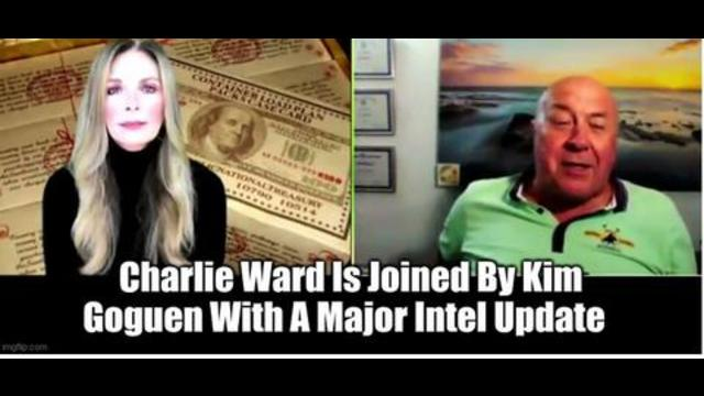 Charlie Ward Is Joined By Kim Goguen With A Major Intel Update 8-9-2021