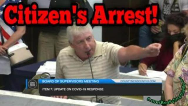 Citizens Arrest Lets Shut These Tyrants Down By Getting ReallySmart 1-9-2021