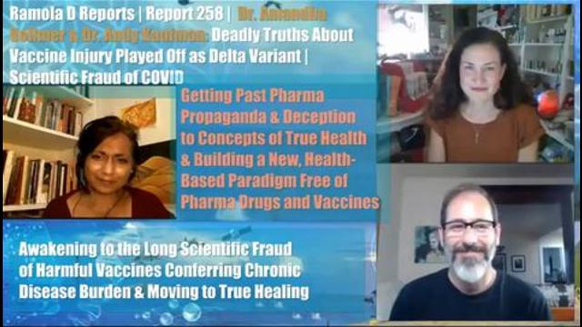 Dr. Andy Kaufman and Dr. Amandha Vollmer Expose COVID Vaccine Fraud & Science Deception 19-9-2021