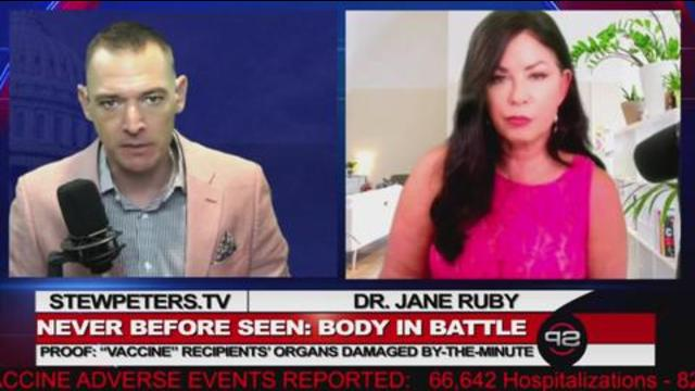 Dr. Jane Ruby gives FIRST TIME LOOK at autopsy results from people who have died after being jabbed 28-9-2021