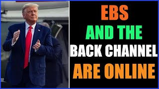 EBS AND THE BACK CHANNEL ARE AVAILABLE ONLINE 10-9-2021