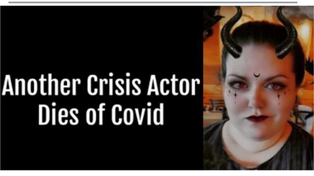 EXPOSED COVID CRISIS ACTOR ACTED OUT HER ALLEGED COVID DEATH MUST WATCH GET SHARING 20-9-2021