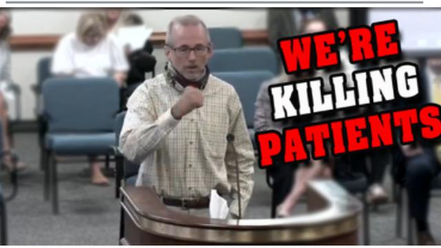 """EXPOSED !! """"WE'RE KILLING PATIENTS !! """" PULMONARY NURSE EXPOSES THE HOSPITAL / PCR COVID LIE !! 20-9-2021"""