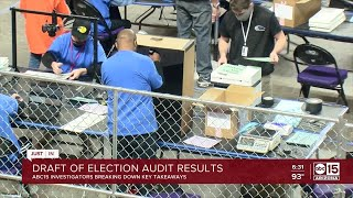 First look at draft of election audit report ahead of Friday release 24-7-2021