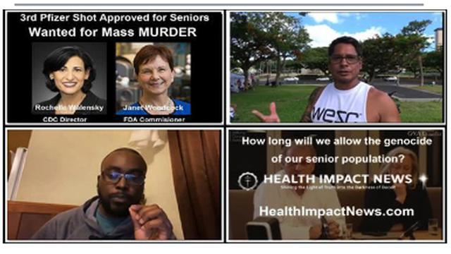 GENOCIDE OF SENIORS CONTINUES AS FDA AND CDC RECOMMEND 3RD BOOSTER SHOT – THOUSANDS ALREADY DEAD 26-9-2021