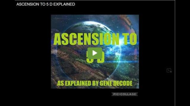 Gene Decode: Ascension to 5D Explained 13-9-2021