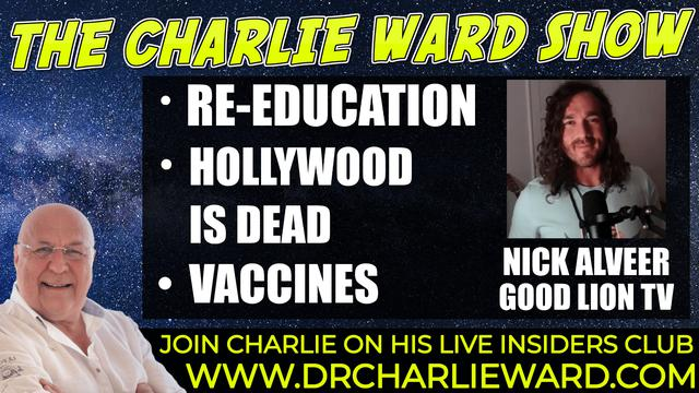 HOLLYWOOD IS DEAD, MAKING FILMS ON A DIFFERENT FREQUENCY WITH NICK ALVEER & CHARLIE WARD 23-9-2021