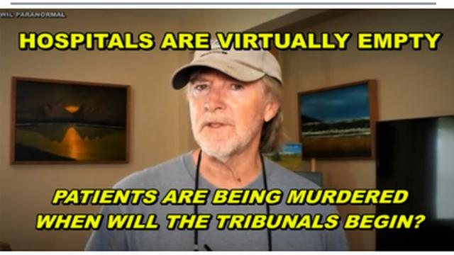 HOSPITALS VIRTUALLY EMPTY – PATIENTS BEING MURDERED – MILITARY TRIBUNALS SET FOR GUANTANAMO 16-9-2021